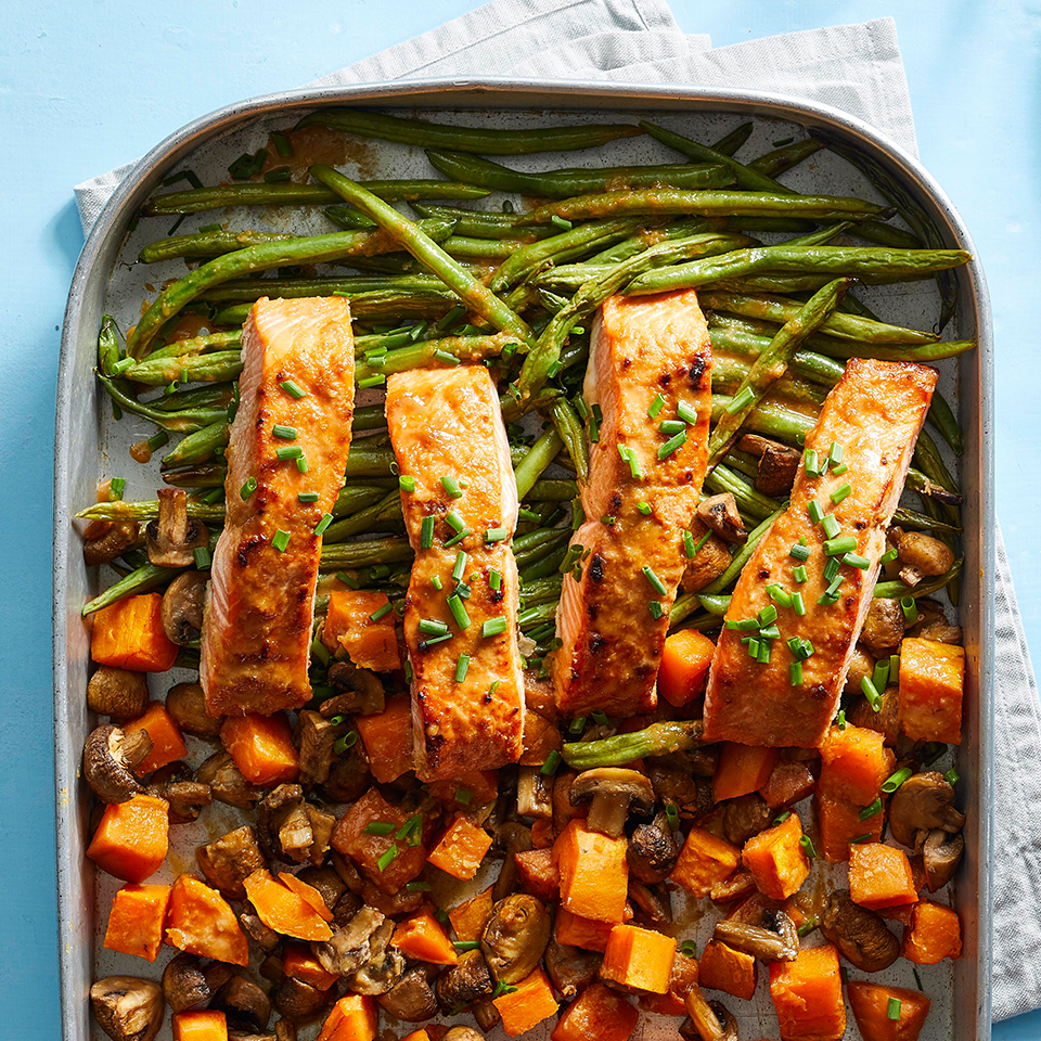 Your Formula for the Perfect Diabetes-Friendly Sheet-Pan Dinner