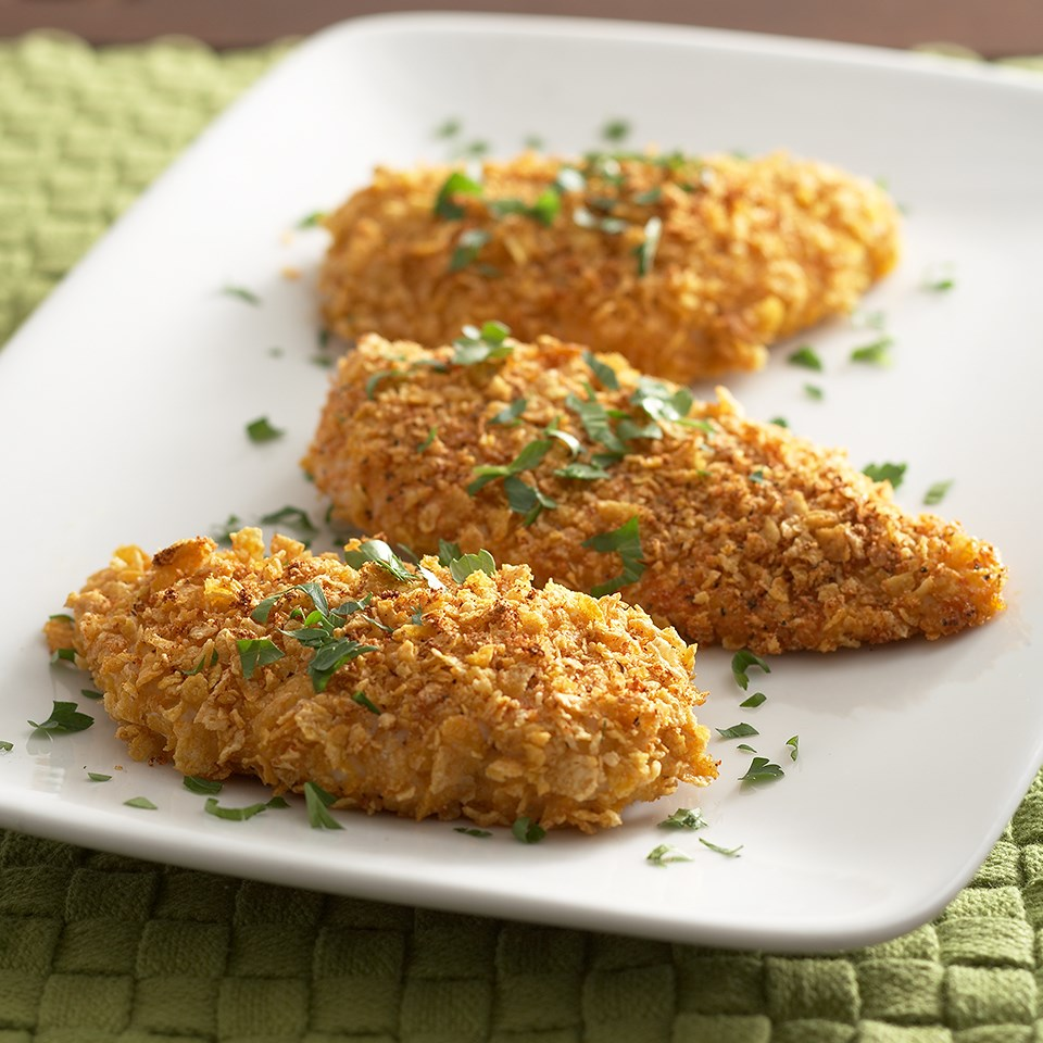 Oven-Fried Chicken Breasts