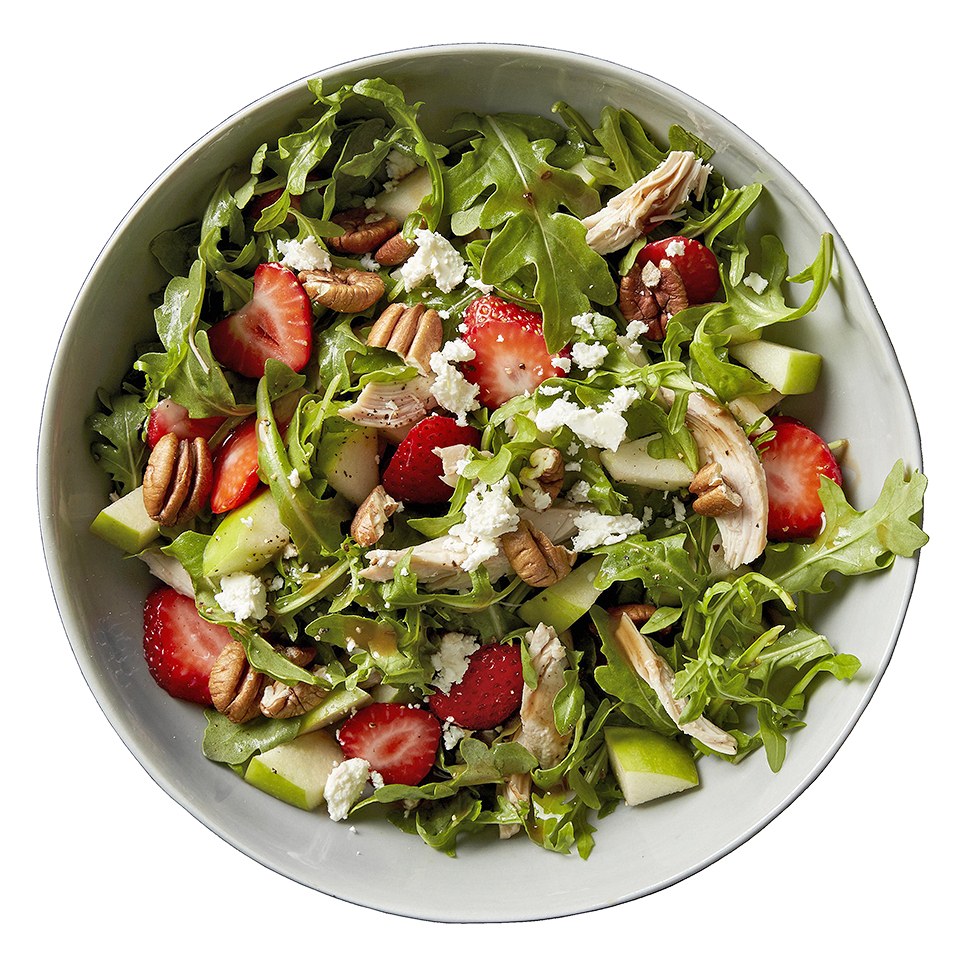 Strawberry-Balsamic Arugula Salad