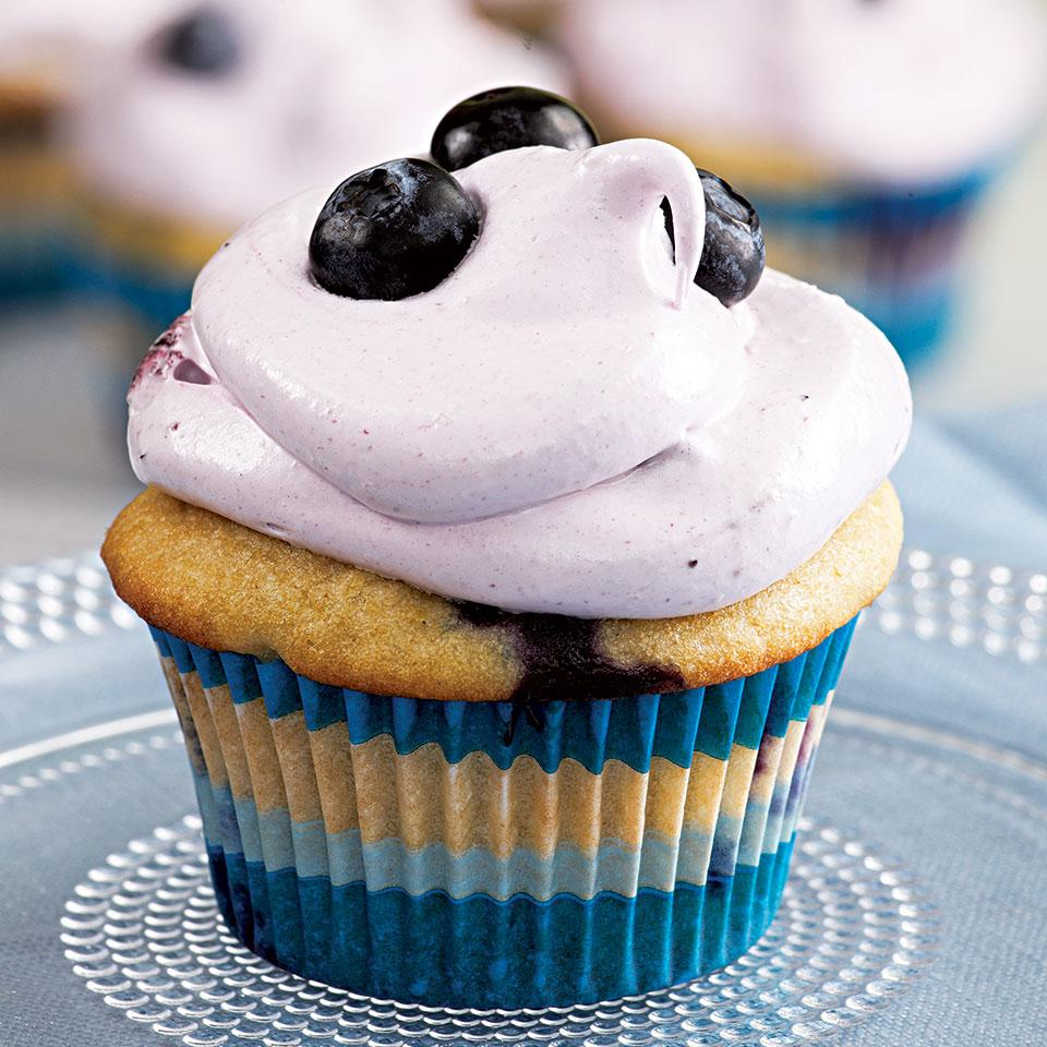 Blueberry Cupcakes