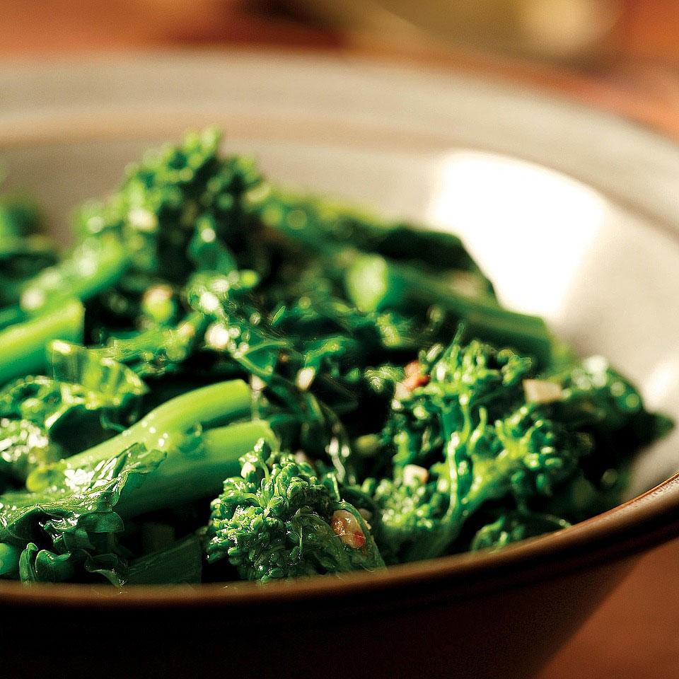Broccoli Rabe with Garlic & Anchovies