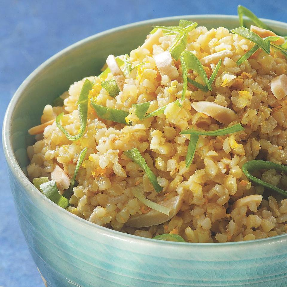 Bulgur with Ginger & Orange
