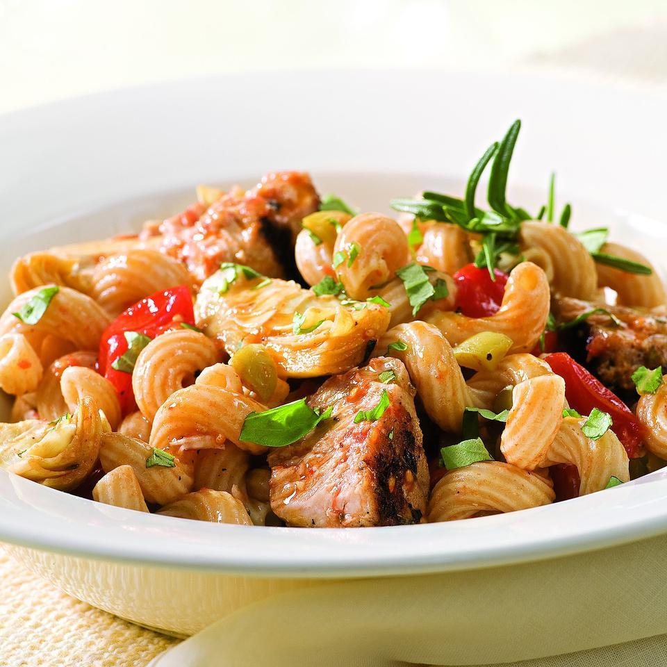 Healthy Mediterranean Pasta Recipes