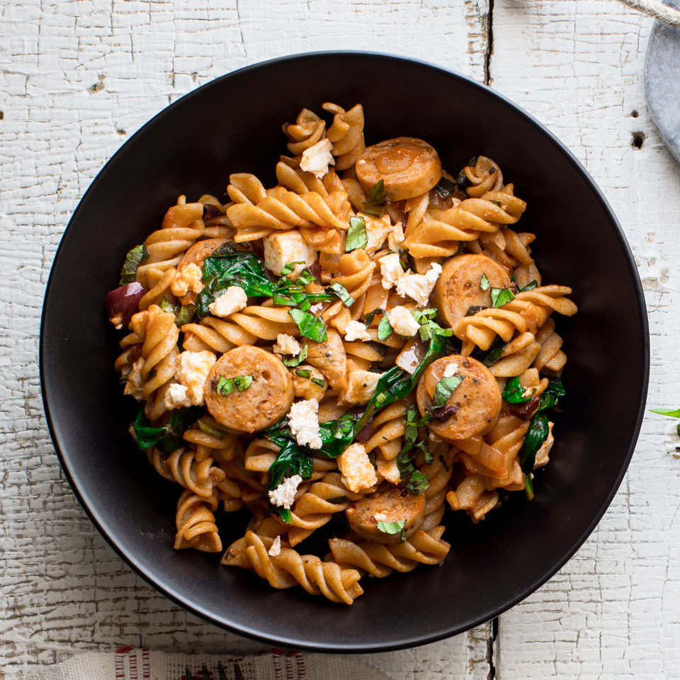 One-Pot Greek Pasta