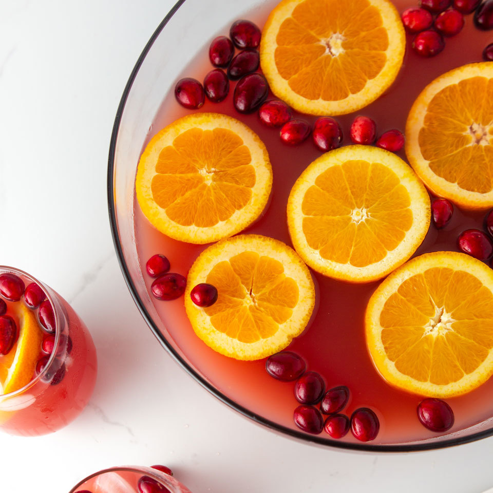 Cranberry-Orange Punch