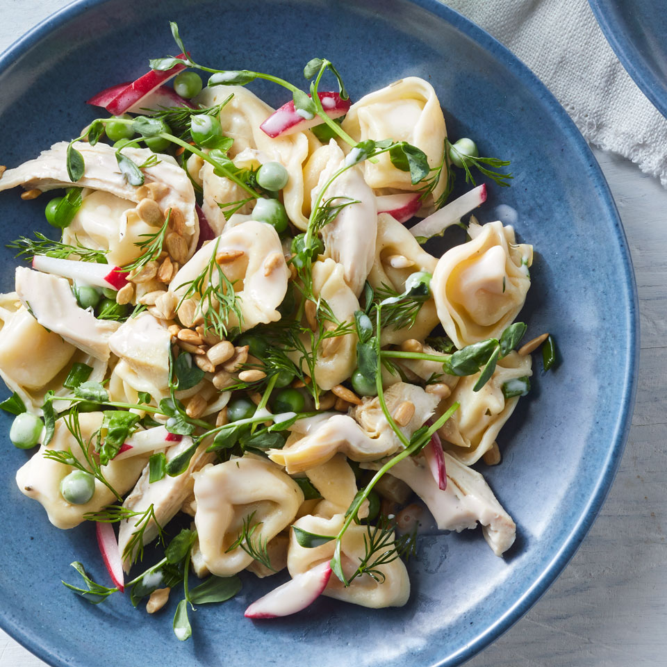 Chicken & Spring Vegetable Tortellini Salad