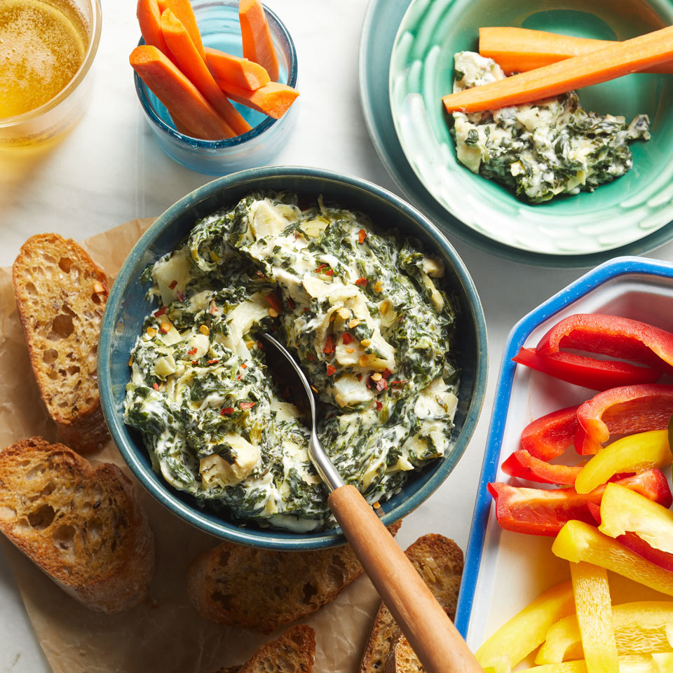 Slow-Cooker Spinach Artichoke Dip