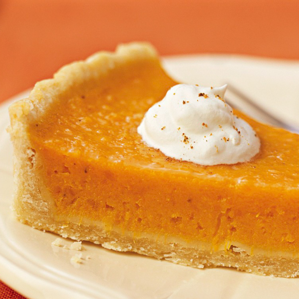 Citrus-Sweet Potato Pie