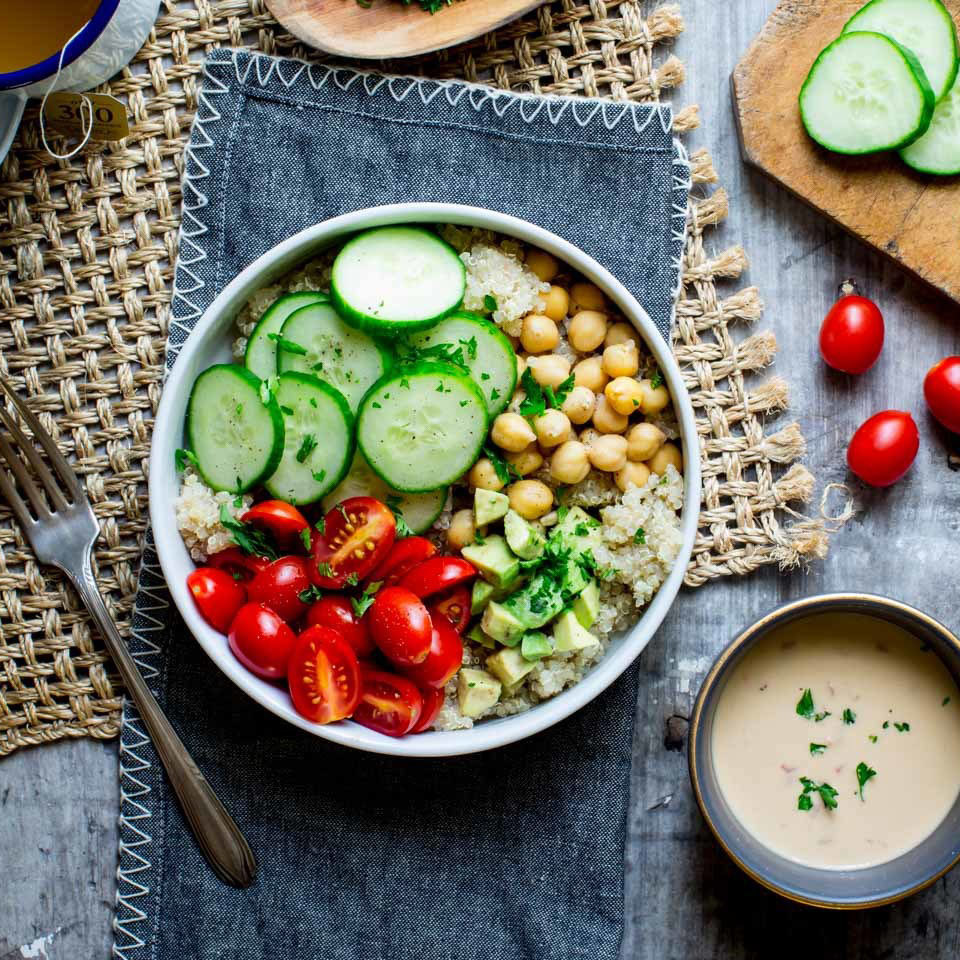 High-Fiber High-Protein Lunch Ideas for Work