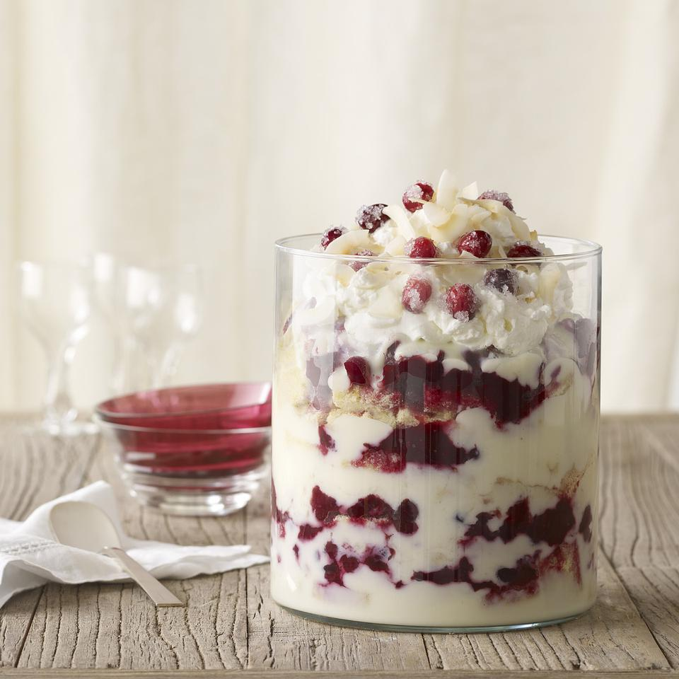 Gluten-Free Cranberry Coconut Trifle