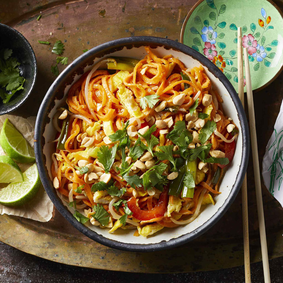 Sweet Potato Pad Thai