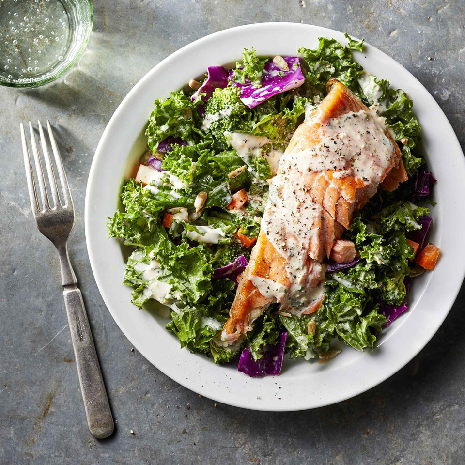 Healthy High-Protein Lunch Salads to Pack for Work