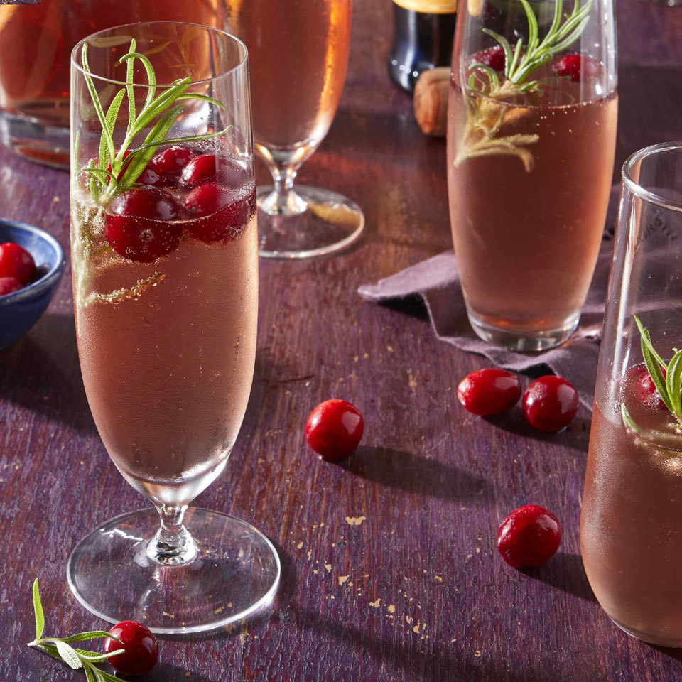 Cranberry-Prosecco Cocktail