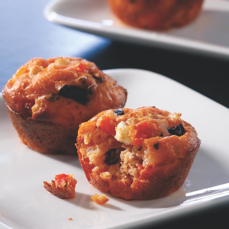 Mini Greek Pizza Muffins