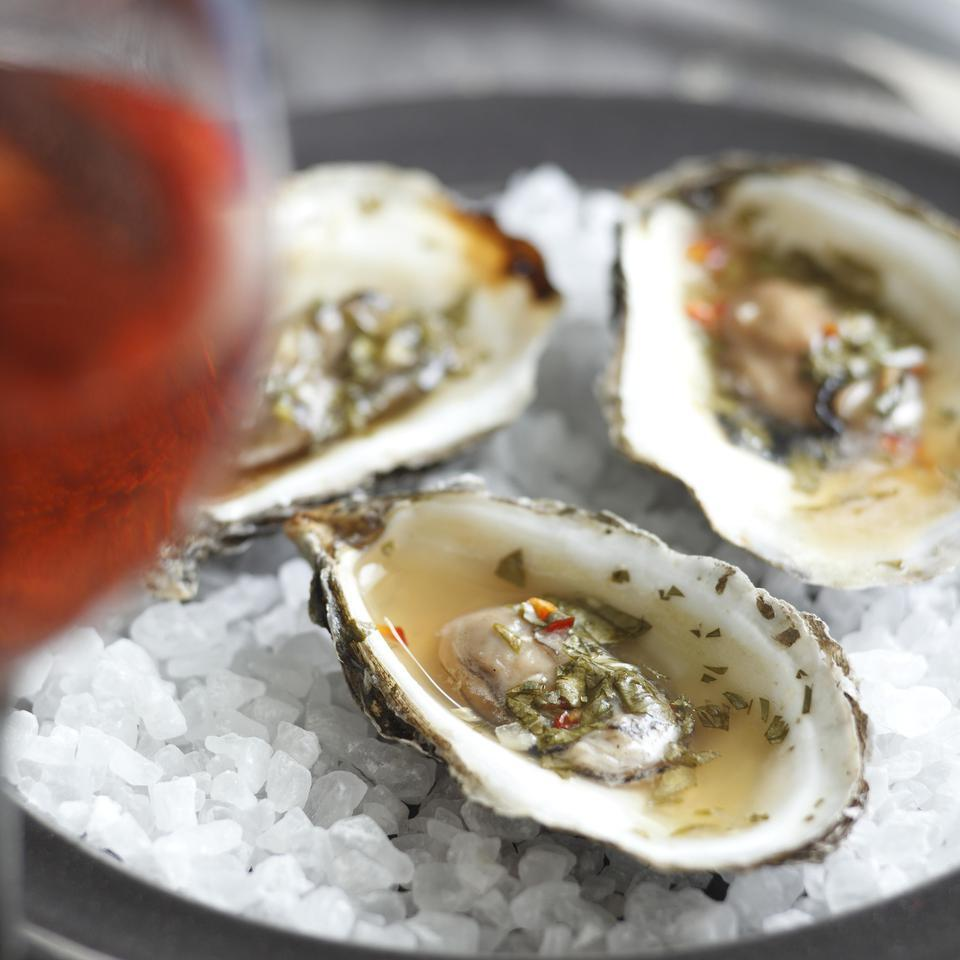 Spicy Thai Barbecued Oysters
