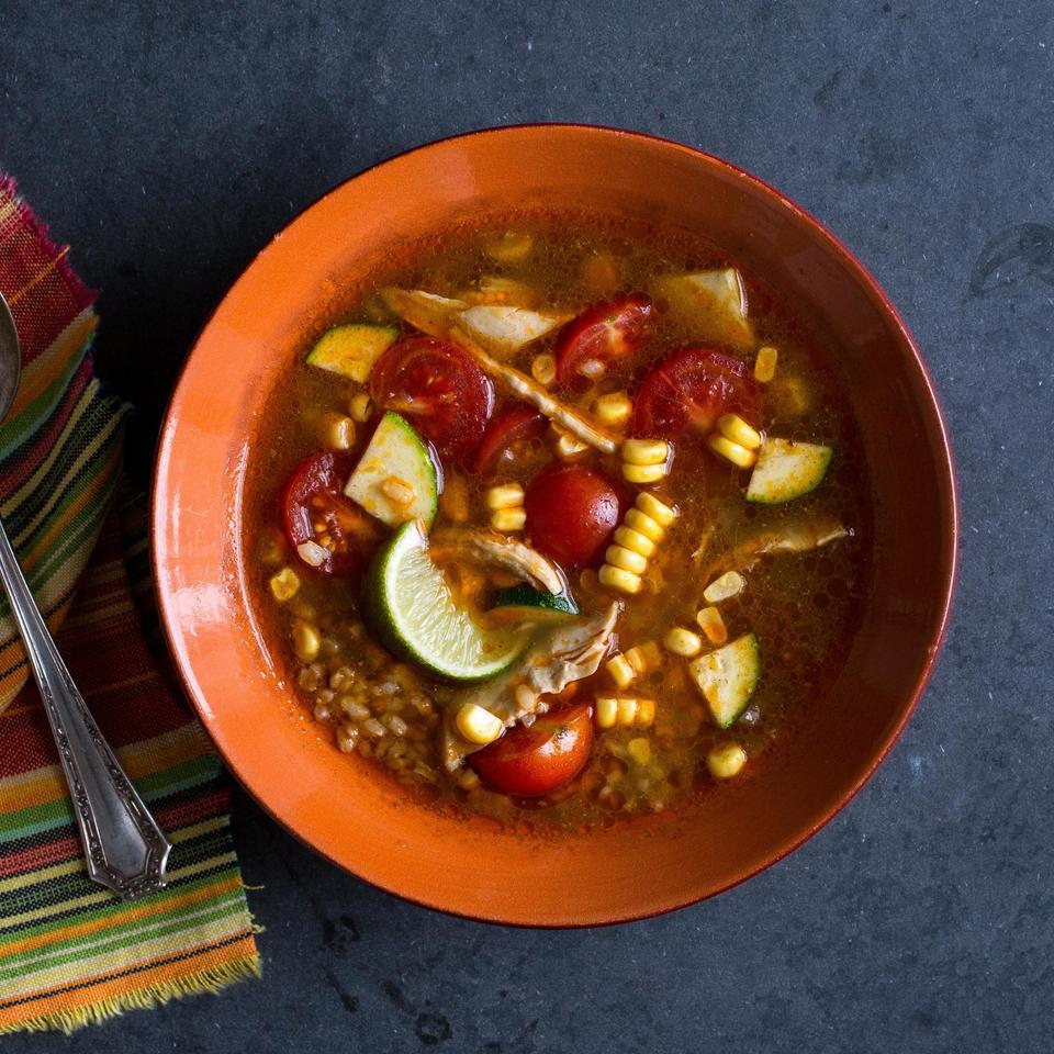 Chipotle Chicken & Vegetable Soup