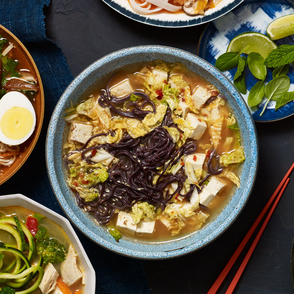 Sichuan Ramen Cup of Noodles with Cabbage & Tofu