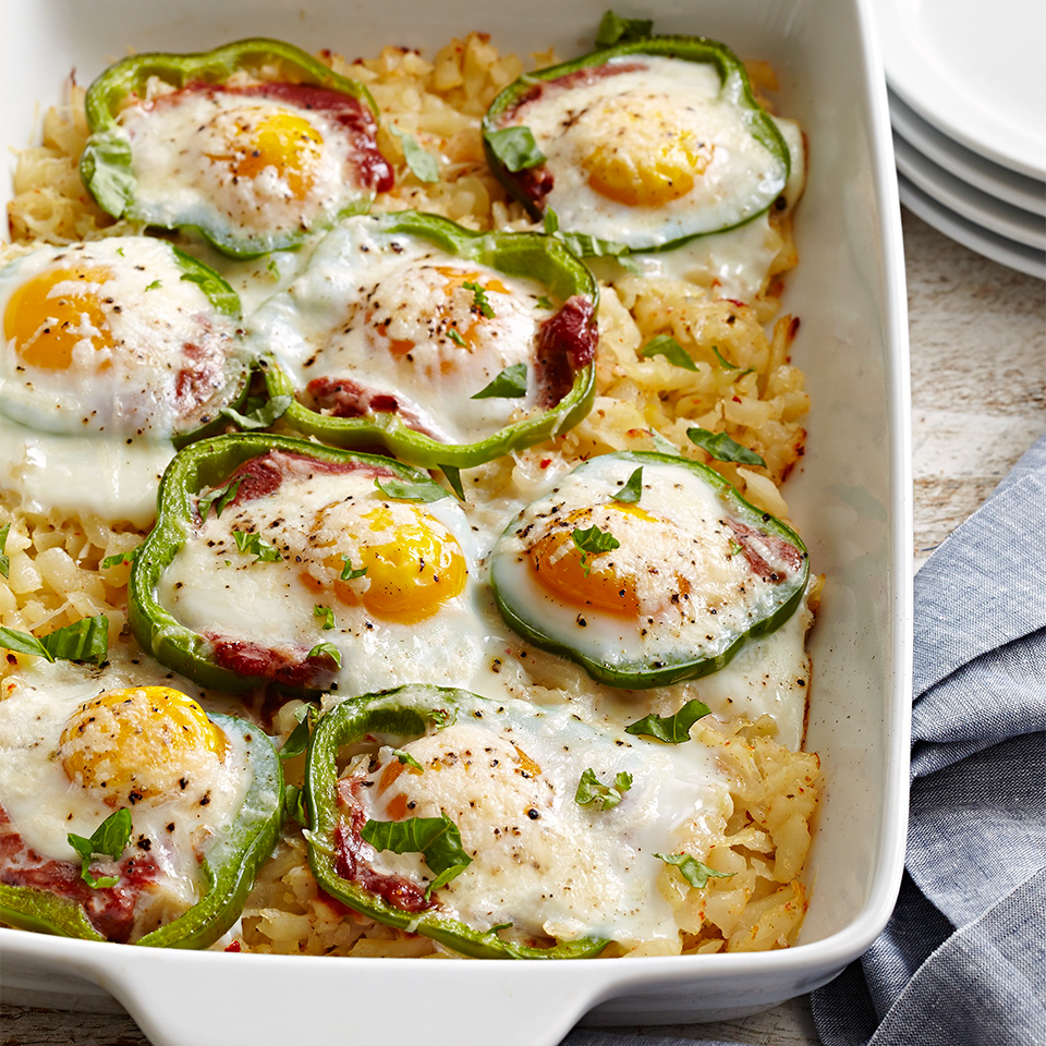 Diabetes-Friendly Breakfast Casserole and Skillet Recipes