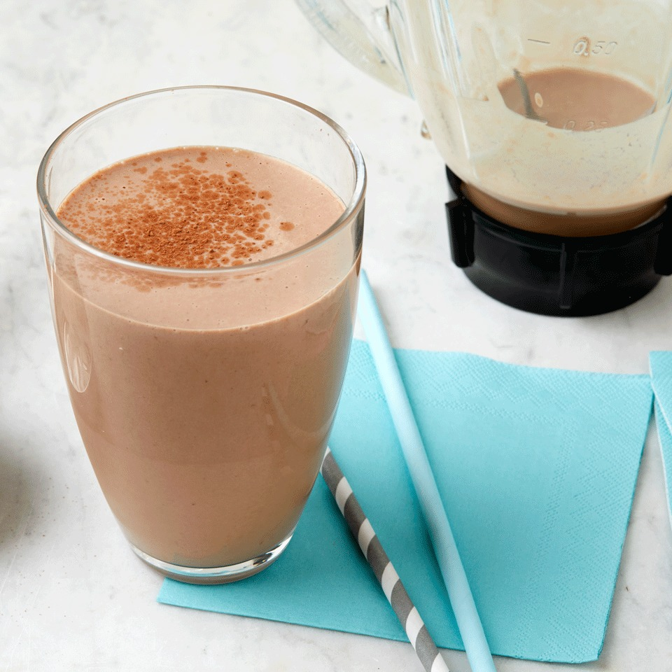 Chocolate-Peanut Butter Protein Shake