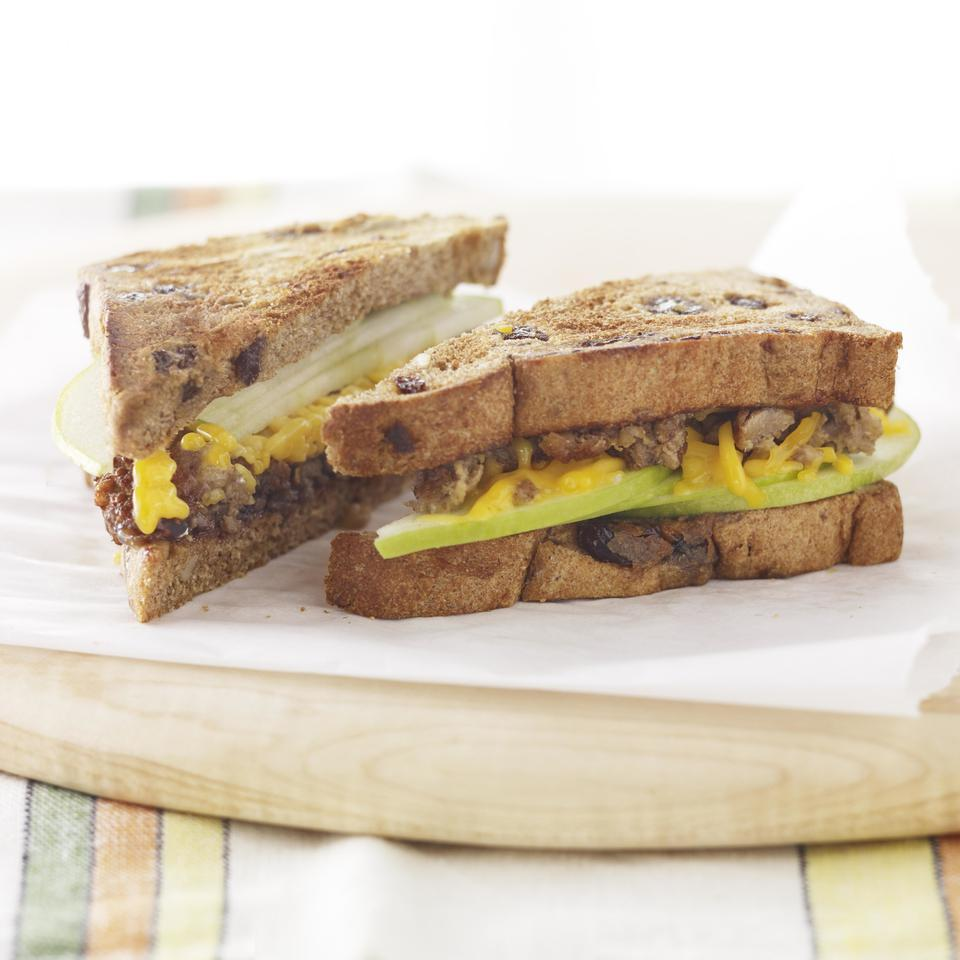 Apple & Veggie Sausage Breakfast Sandwich