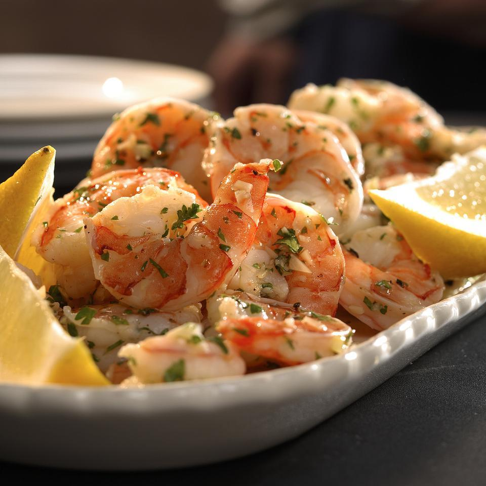 Lemon-Garlic Marinated Shrimp