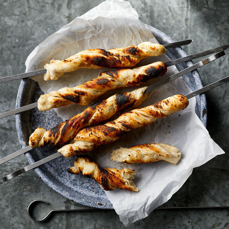 Campfire Biscuits on a Stick