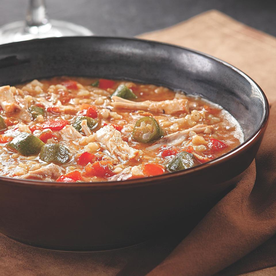 Braised Chicken Gumbo