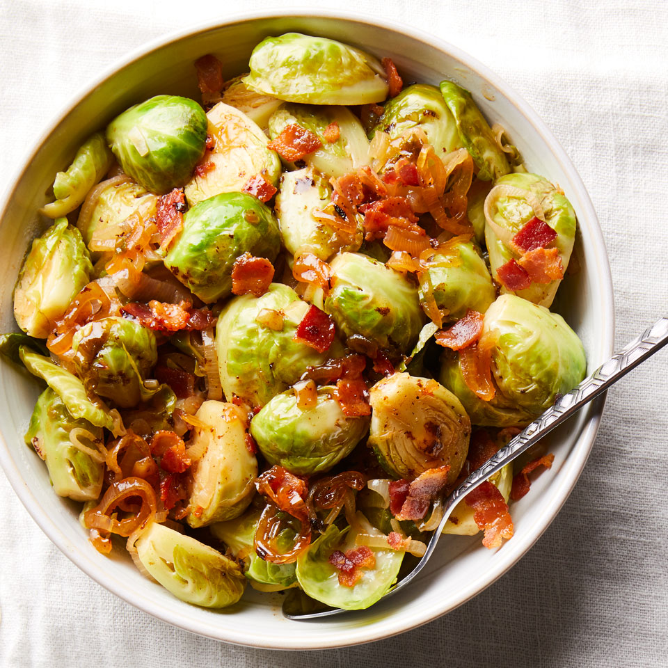 These Recipes Prove Brussels Sprouts and Bacon Are the Perfect Match
