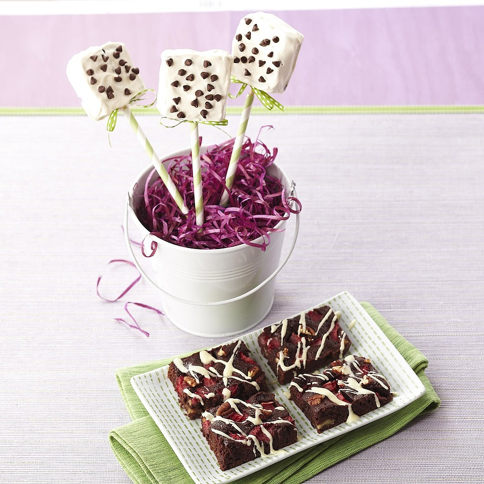 Brownies on a Stick