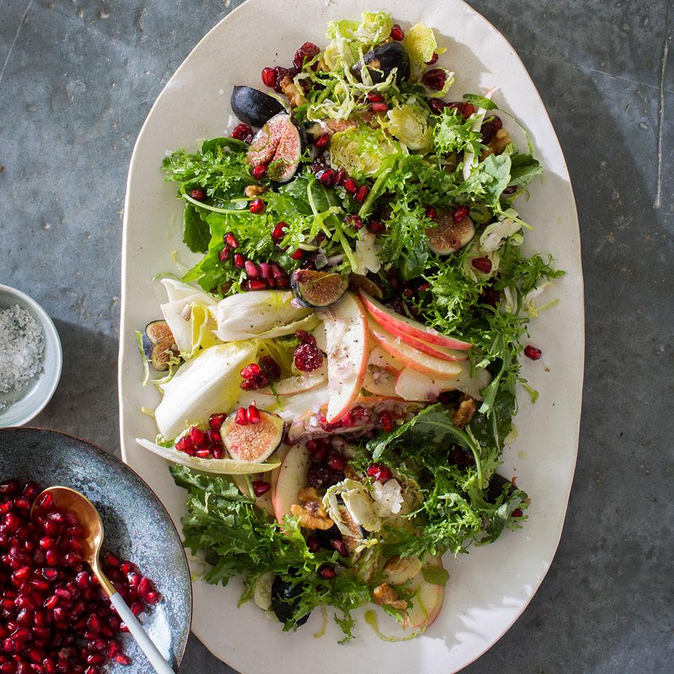 Apple, Fig & Brussels Sprouts Salad