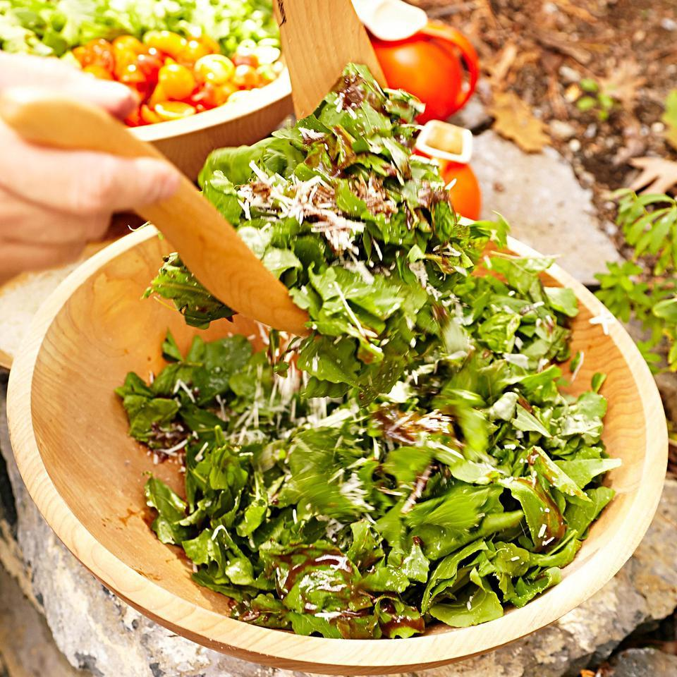Herb & Arugula Salad with Balsamic Vinaigrette