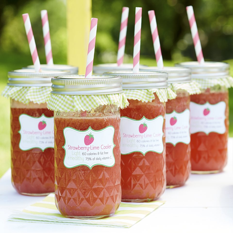 Strawberry-Lime Cooler