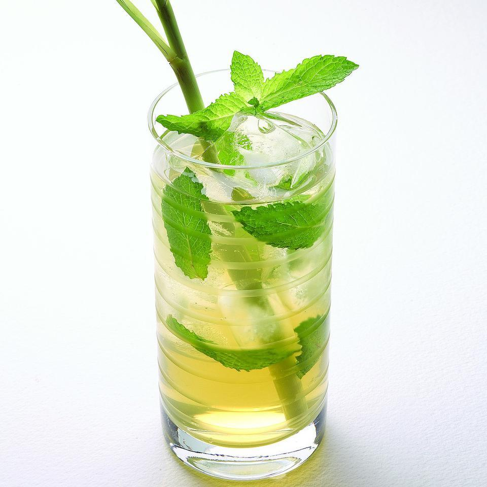 Iced Mint Green Tea