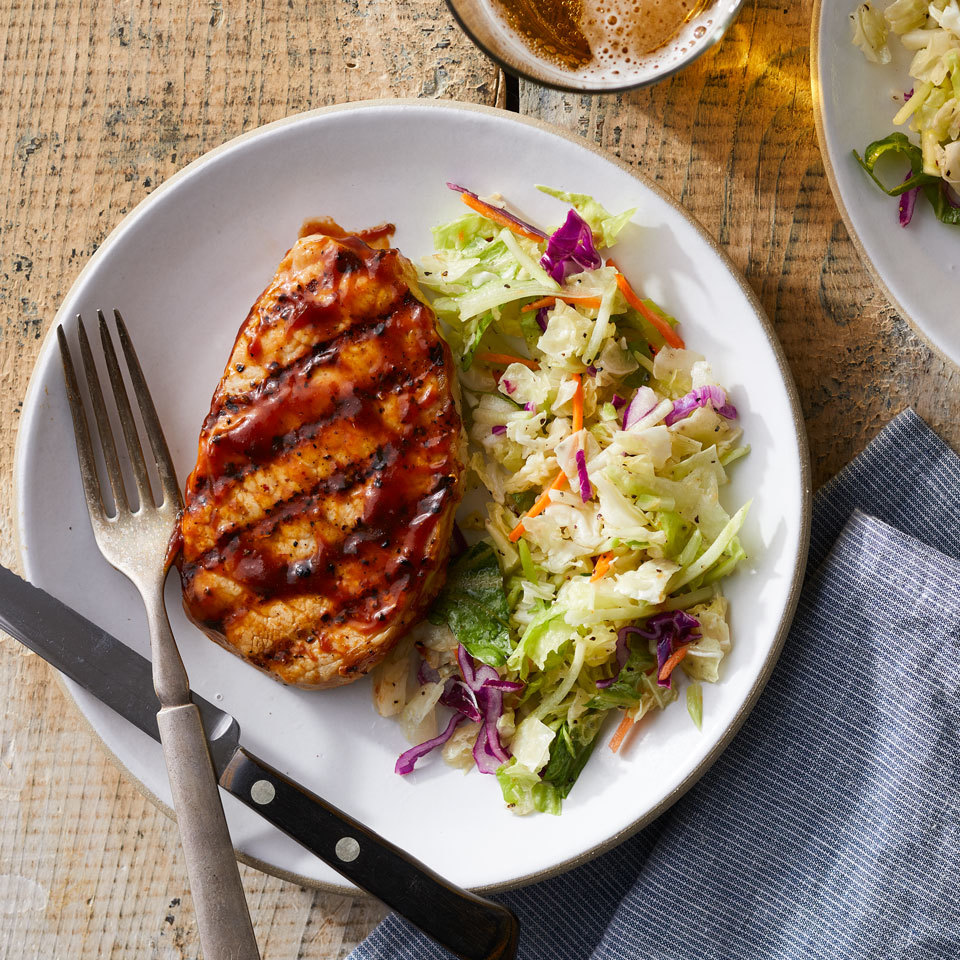 Barbecue Pork Chops