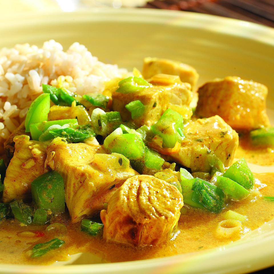 Curried Fish