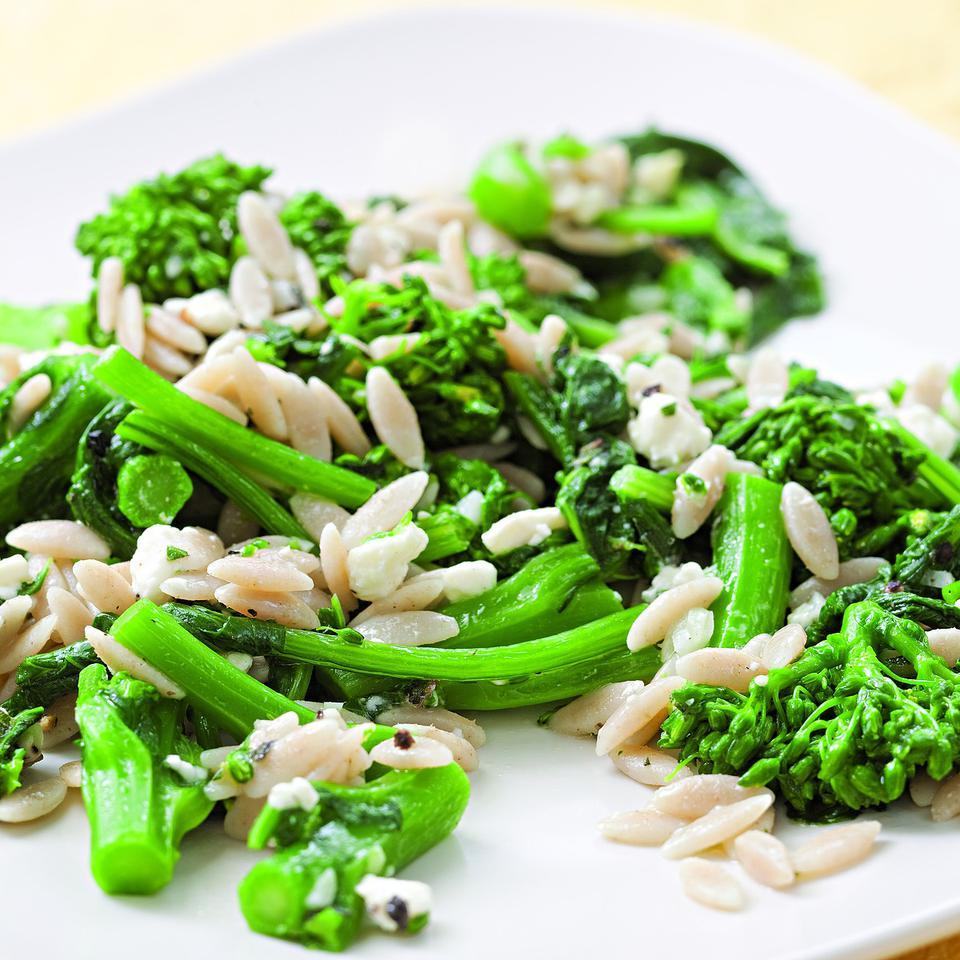 Broccoli Rabe & Orzo Salad
