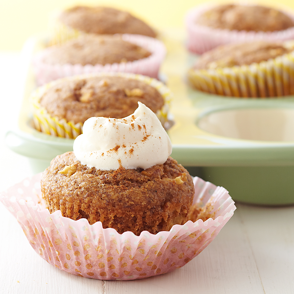 Apple-Spice Cupcakes