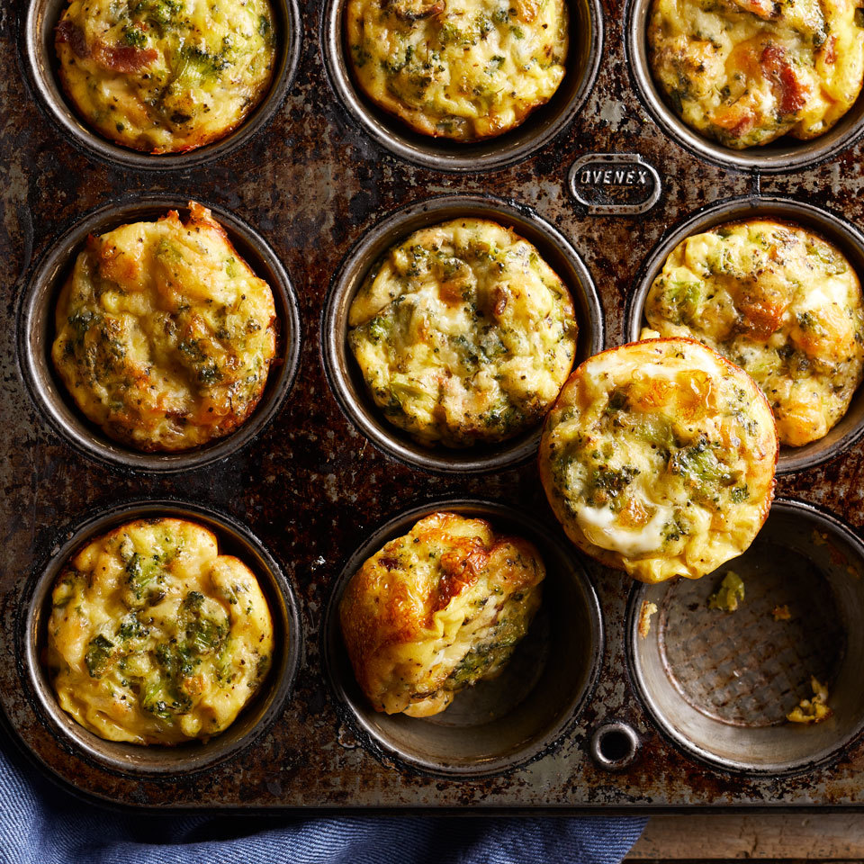 10 Muffin-Tin Eggs That Will Make Your Mornings a Breeze