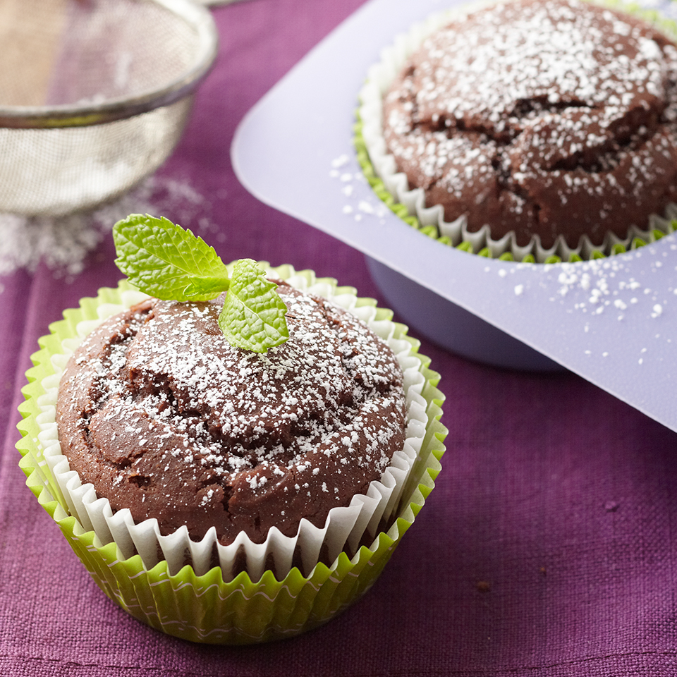 Chocolate-Ginger Cupcakes