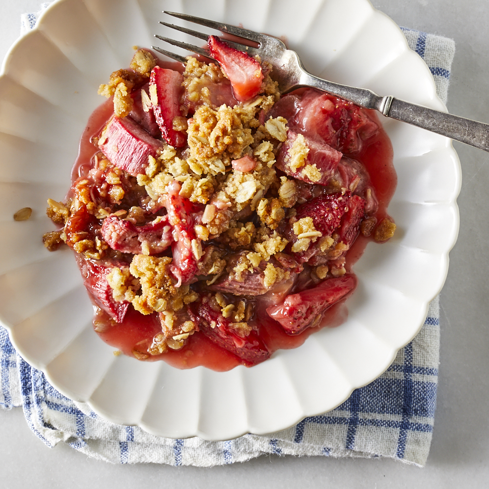 Healthy Strawberry-Rhubarb Recipes
