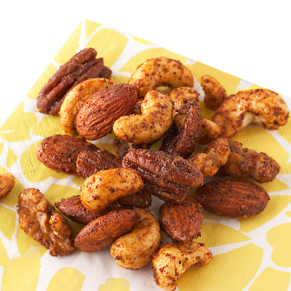 Sweet and Salty Roasted Nuts