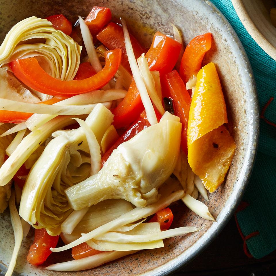 Orange-Oregano Marinated Vegetables