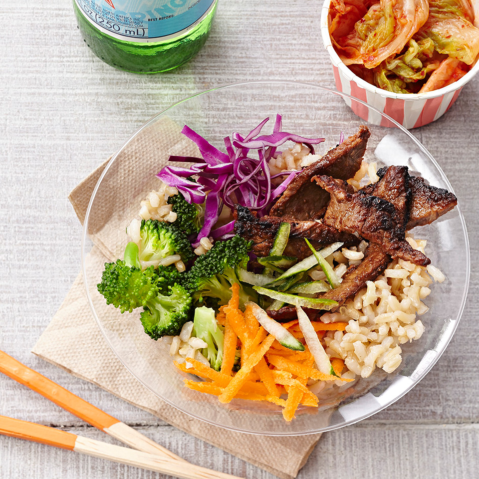 Bulgogi Beef and Vegetable Bowls