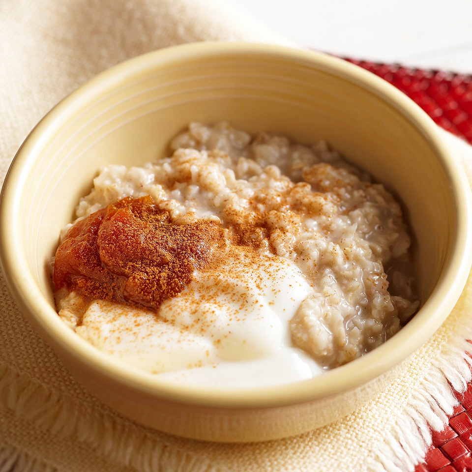 Pumpkin Pie Hot Cereal