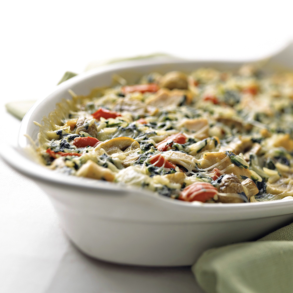 Turkey-Vegetable Bake