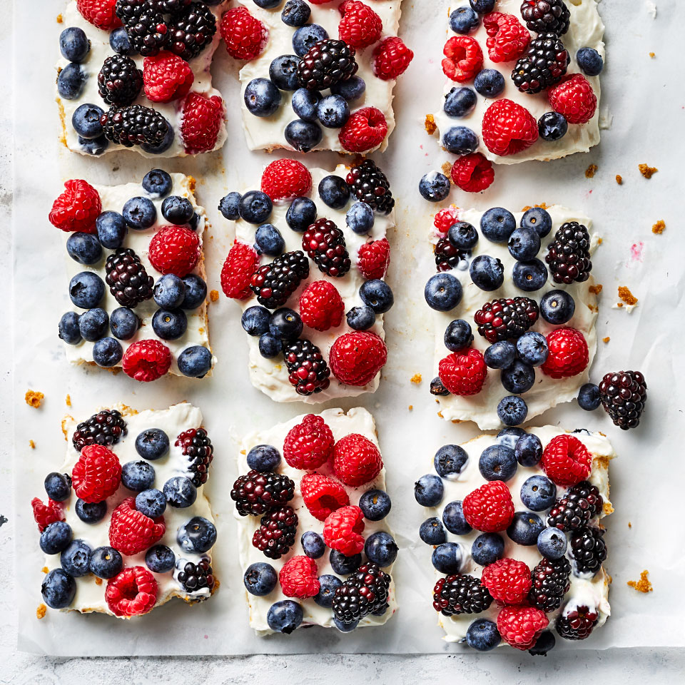 Healthy Red, White and Blue Recipes