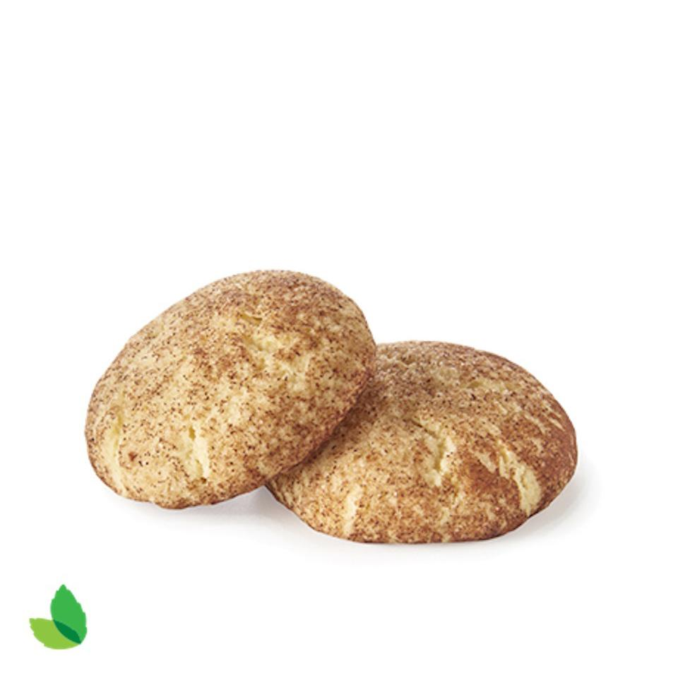 Reduced-Sugar Snickerdoodle Cookies