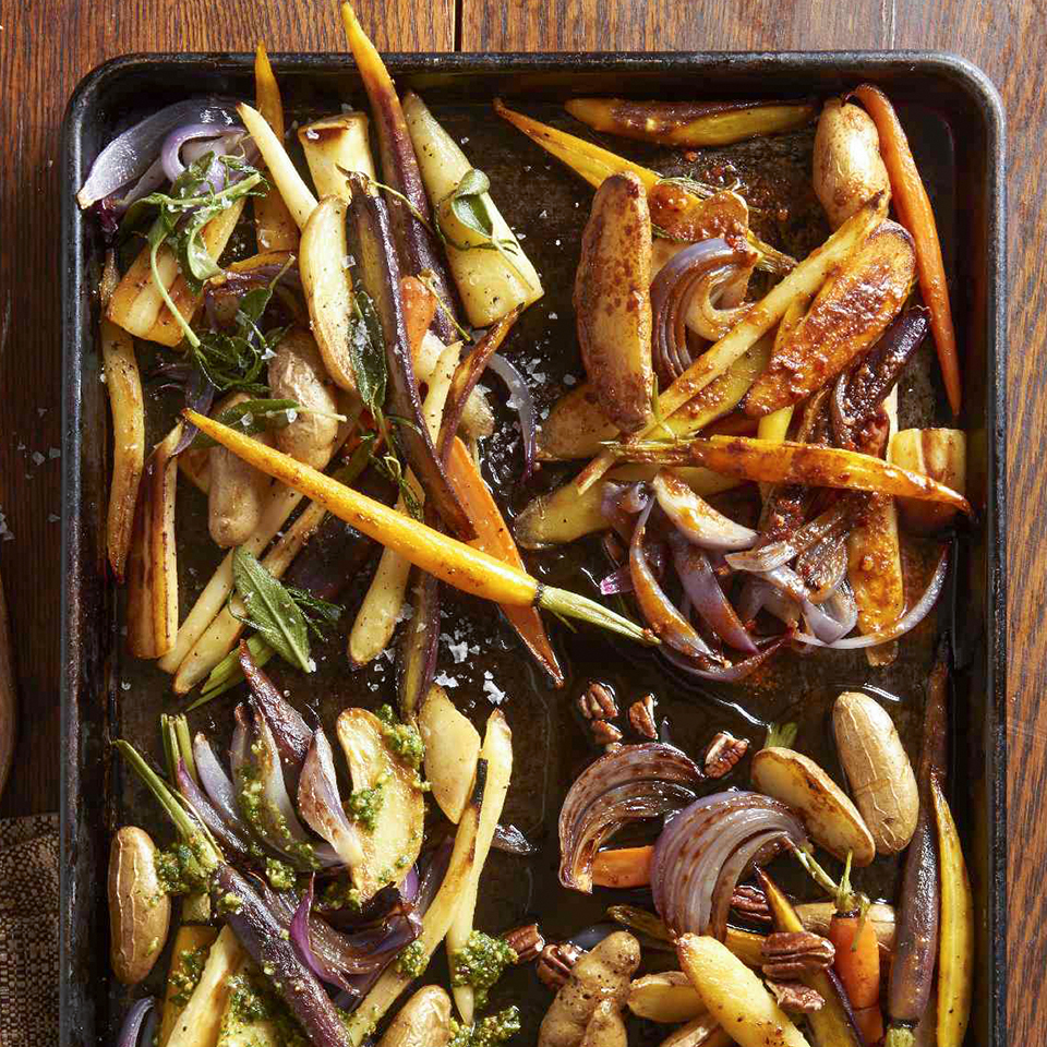 Easy Roasted Root Vegetables