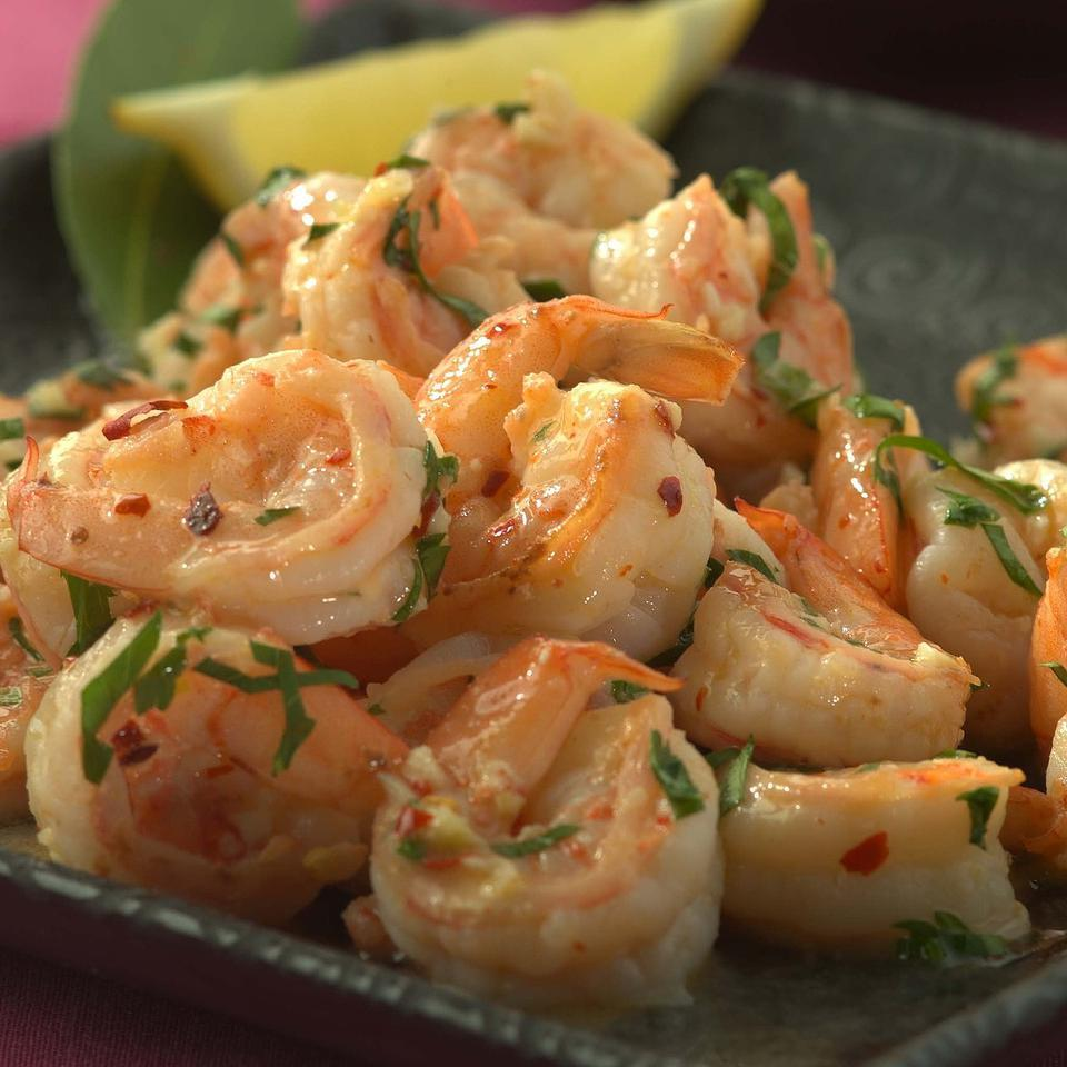 Sizzled Citrus Shrimp