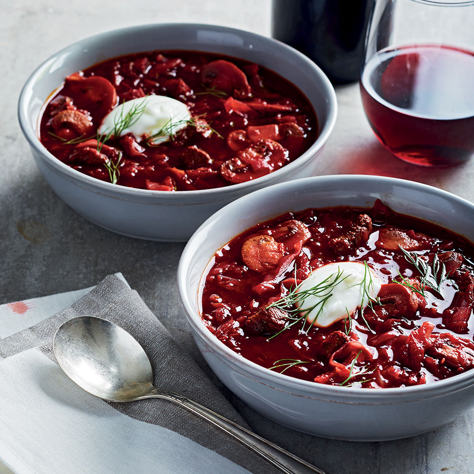 Borscht With Beef Recipe Eatingwell
